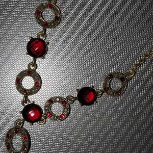 RETIRED AVON NECKLACE AND EARRINGS